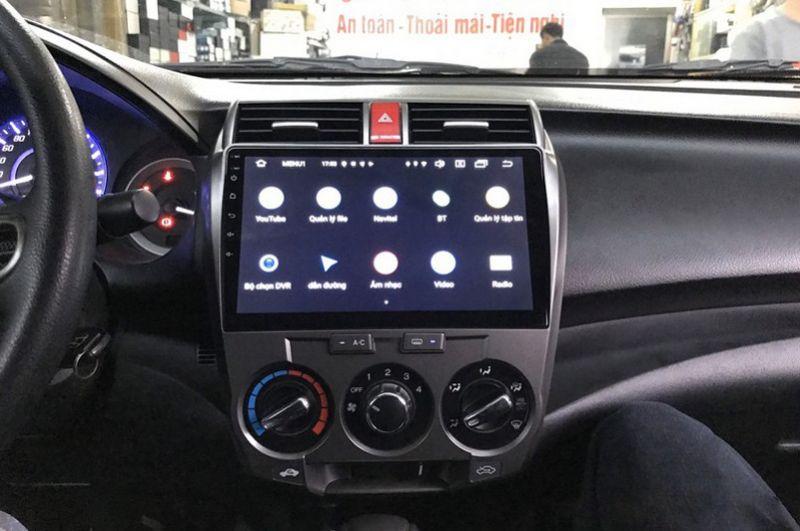 Màn hìnhAndroid cho xe Honda City