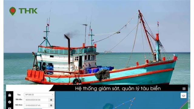 Giải pháp thiết bị giám sát hành trình - định vị tàu biển + tàu cá